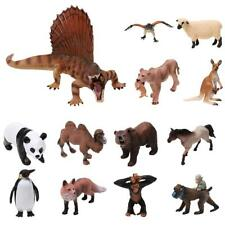 Realistic Dinosaur Dino Farm Wildlife Zoo Animal Model Figure Figurine Kids Toy