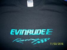 Evinrude Racing Screen Printed Long Sleeve T-Shirt 6 oz.100% Cotton Sm-5XL
