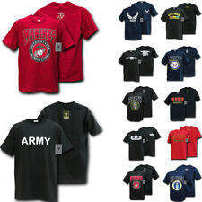 Rapid Classic Military Air Force Marine Navy Coast Guard Army T-Shirts Tees