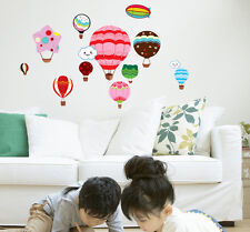 Balloon Smile Cloud Nursery Kids Room Decor Bedroom Home Mural Wall Stickers