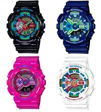 CASIO G-SHOCK Crazy Colors Mens Watch GA-110MC 4 Colors With Tracking  2016 New