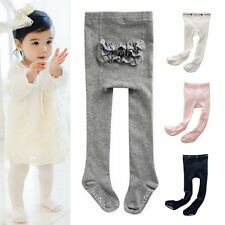 Toddler Kids Baby Girl Lace PP Bottom Pantyhose Anti-Slip Tigths Stockings New