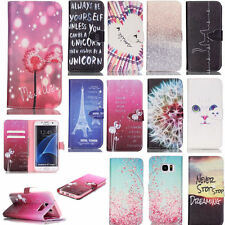 Card Holder Wallet Cover for Samsung S7 Edge/LG/Huawei/iPhone SE Phone Case Flip