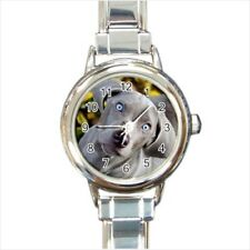 Blue Lacy Italian Charm Watch (Battery Included)