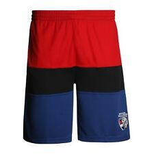 Western Bulldogs AFL Footy Mens Leisure Training Shorts
