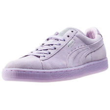 Puma Suede Classic Mono Ref Iced Womens Trainers Lilac New Shoes