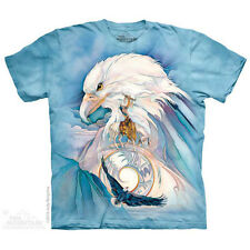 Peace At Last T-Shirt by The Mountain. Eagles Birds Sizes S-5X NEW