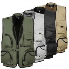 Outdoor Multi Pocket Vest Photography Waistcoat Fishing Travel Hunting Jacket