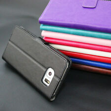 Magnetic Flip Cover Wallet Leather Case Stand For Samsung Galaxy Mobile Phones