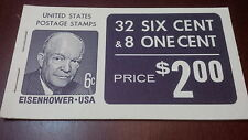 US BK119 MNH VF+ 1970-71  Dull Gum Unused/Unexploded booklet  Scv $ 8.75