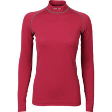 "Womens Base Layer Top Shirt LS ""Energy"" Power Grid™ Light Polartec®"