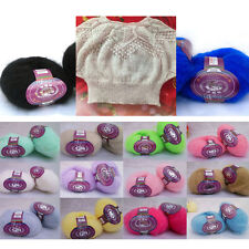 Wholesale! Luxury Angola Mohair Cashmere Wool Yarn Skeins Lot;Fine;14 Colors!