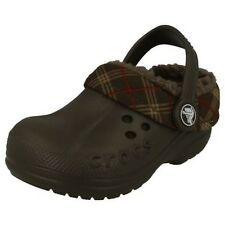 Boys Crocs Blitzen Winter Plaid Kids