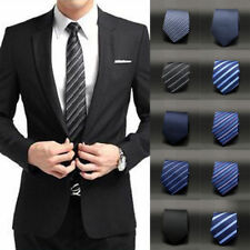 New Fashion Striped Tie Jacquard Woven Men's Silk Suits Ties Necktie USWarehouse