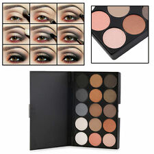 Professional 15 Color Matte Shimmer Eyeshadow Palette Makeup Cosmetic kit Newf D