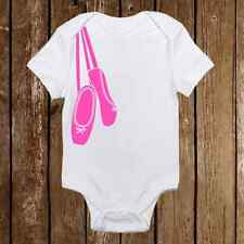 Ballerina Shoes Costume Onesie- Dancer Funny unisex baby clothes Adorable Gerber
