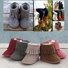 Newborn Baby Snow Tassel Boots Soft Sole Warm Baby Boots Crib Shoes Remarkable
