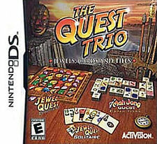 The Quest Trio (Nintendo DS) Lite DSi XL 3DS 2DS w/Case & Manual