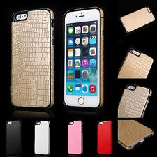 Luxury Soft TPU + PU Leather Fitted Cover/Case for iPhone 5/5s/SE/6/6s/6s Plus