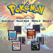 Pokemon Video Game Card Cartridge SoulSilver HeartGold Version For NDS