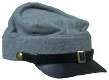 Reproduction Civil War Kepi Cap for Reenactors - C.S. Grey - Various Sizes