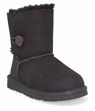 UGG® Toddler Black Bailey Button Classic Boot 5991T