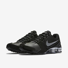 NEW* NIKE SHOX AVENUE LTR Men's Running Shoes Black Silver 833584 001 New in Box