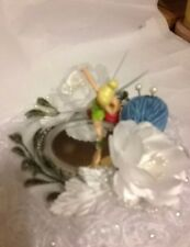 One of a Kind Handcrafted Cake Topper-Party Decoration- DISNEY TINKERBELL