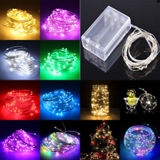 20-1000 LED Fairy String Lights Indoor/Outdoor Birthday Wedding Christmas Party