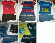* NWT NEW BOYS 2PC OR 3PC EPIC THREADS JUMPING BEANS SUMMER OUTFIT SET 2T 3T