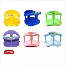Infant Baby Bath Tub Ring Seat KETER COLORS FAST SHIPPING TO USA New in BOX