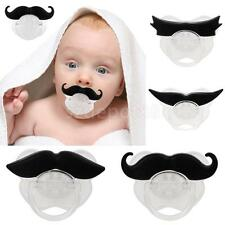 Funny Dummy Dummies Baby Pacifier Novelty Moustache Baby Child Nipple Soother
