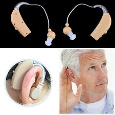 Rechargeable Hearing Aids Personal Sound Voice Amplifier Behind The Ear FJ