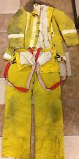Fire Fighter Turn Out Gear, Yellow from Harbor Police/Fire Dept-San Diego