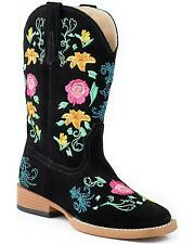 Roper Toddler-Girls' Floral Embroidered Cowgirl Boot - 09-017-0902-0183T