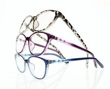 Womens Cat Eye Full Frame Reading Glasses Cute Readers 5 Colors Various Strength