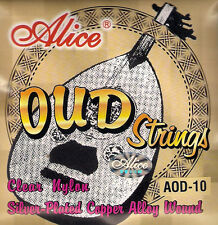 10 String Oud Strings Nylon Silverplated Copper Wound