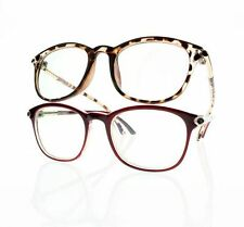 New Oversize Retro Fashion Frame Unisex Reading Glasses +1.0 +2.0 +3.0 +4.0