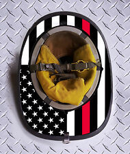Standard USA Red Line Fire Helmet Skin