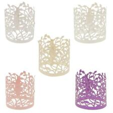 20 Flower Leaves Paper Tea Light Holder Wedding Party Decorations