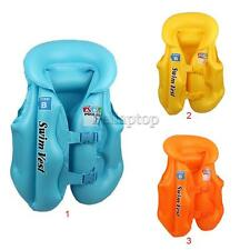 Inflatable Swimming Pool Vest Kids Float Aid Jacket for Baby Swim Training Toy