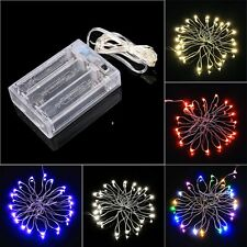 Fashion 2M 20 LED String Light Battery Operated Wedding Party Christmas Light