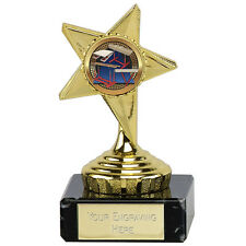 Budget Guide Star Gymnastics Trophy Award  Cheap Bargain FREE ENGRAVING