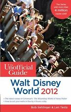 3 Walt Disney Trading Pins + The Unofficial Guide to Walt Disney World 2012 Book