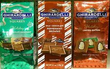 GHIRARDELLI ~ Chocolate Squares Assorted Varieties