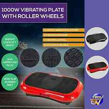 1000W Vibrating Plate Fat Burner Gym Body Exercise Cardio Equipment Workout