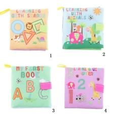 Kids Baby Educational Developmental Soft Picture Cloth Book Cognize Books Gifts