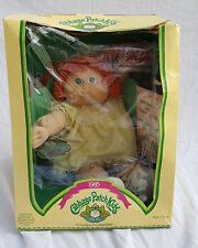 Vintage 1985 Cabbage Patch Kids Coleco Red Head Doll in Box