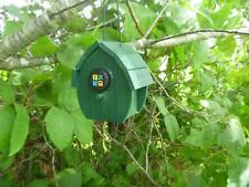 Hut Style Bird House Geocache Container, Nice Hide!