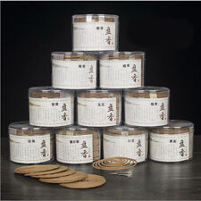 48pcs Natural Coil Incense Aromatherapy Indian Buddhist Sandalwood Incense